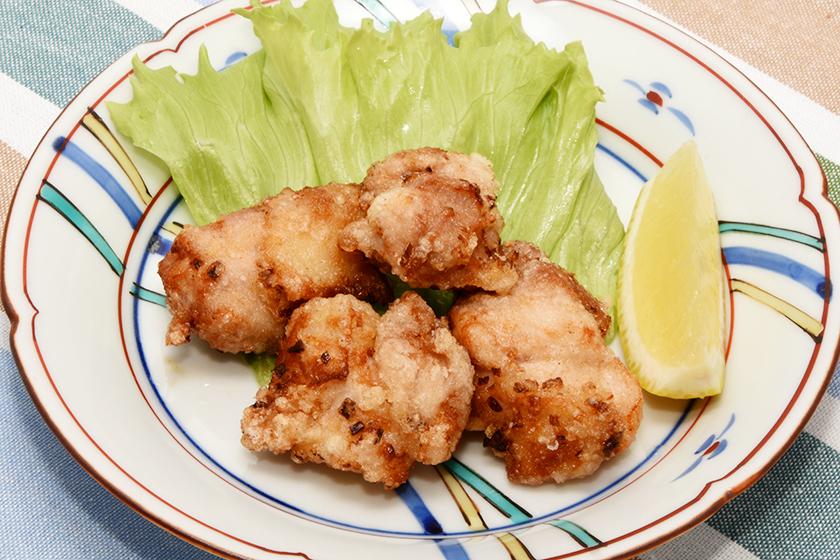 鶏肉の香味塩から揚げ