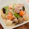 豚肉と野菜のごまみそ煮