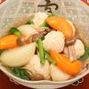 肉団子と野菜の薄くず煮