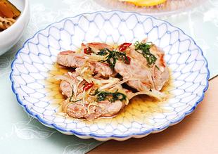 豚ヒレ肉の香味漬け