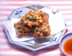 第3回  納豆が苦手でもおいしく食べられる  納豆のかき揚げ