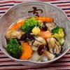 かきとブロッコリーの吉野煮