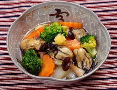 第9回  ビタミンたっぷり!  かきとブロッコリーの吉野煮
