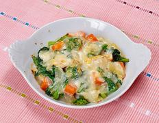 第12回  旬の野菜を香ばしく  春野菜のチーズ焼き