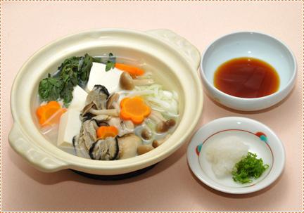 かき鍋 ポン酢