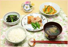 第1回 献立は「一汁三菜」を基本にバランスよく食べよう