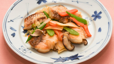 第1回<br>1条 カラダをつくる源! たんぱく質豊富な食材をしっかりとりましょう。<魚編>