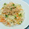 せん切り野菜のごまドレッシングサラダ