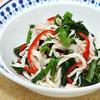 蒸し鶏と菜の花のサラダ