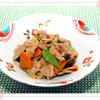 豚肉と根菜の炒め煮