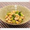 大豆と鶏肉の煮物