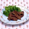 牛肉の七味焼き