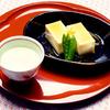 卵豆腐のあんかけ