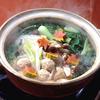 鶏のひき肉鍋