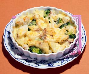 タラとポテトのチーズ焼き