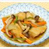 揚げさわらと野菜の甘酢炒め