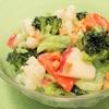 ゆで野菜のヨーグルトドレッシングサラダ
